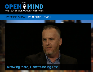 Michael Lynch, author of The Internet of Us, talks about informed citizenship in the age of Google.